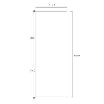 Flagga-vertikal-300x100cm