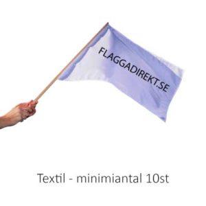 Handflagga textil