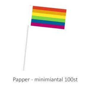 Handflagga papper