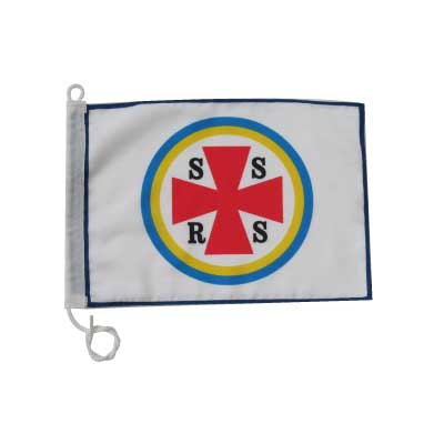 båtflagga rektangulär