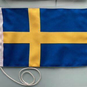 Båtvimpel Sverige rektangulär